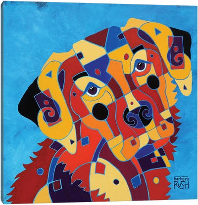 Labrador Love Canvas Art Print