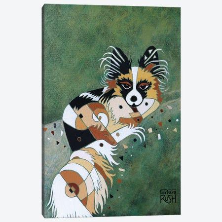 Papillon Canvas Print #RUH76} by Barbara Rush Canvas Art