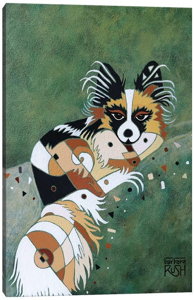 Papillon Canvas Art Print