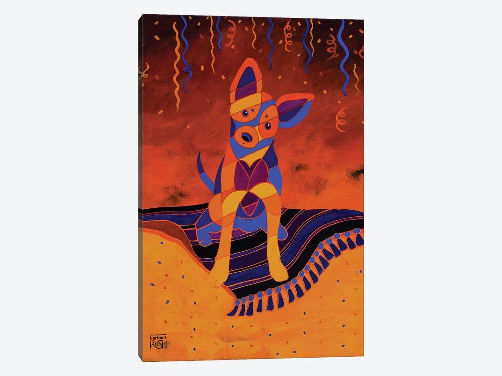 Party Fiesta Chihuahua by Barbara Rush 1-piece Canvas Wall Art