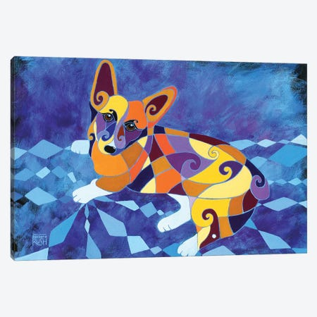 Pete And Re-Pete Canvas Print #RUH81} by Barbara Rush Canvas Art