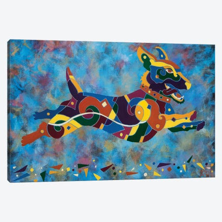 Psycho Delic Canvas Print #RUH86} by Barbara Rush Canvas Art Print