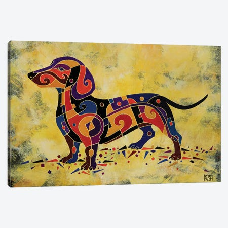 Puzzled Canvas Print #RUH89} by Barbara Rush Canvas Artwork