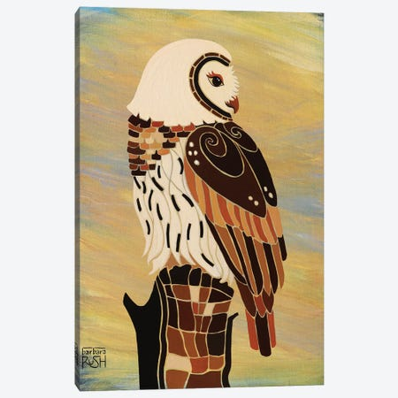 Retrospect In Natural Canvas Print #RUH95} by Barbara Rush Canvas Wall Art