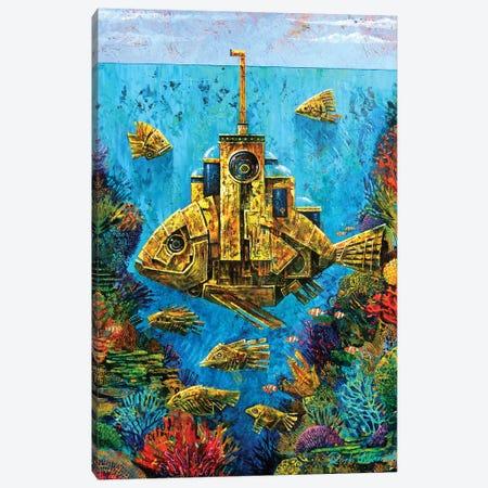 Goldfish Canvas Print #RUR11} by Roch Urbaniak Canvas Print