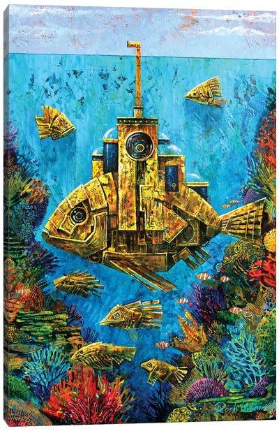 Goldfish Canvas Art Print