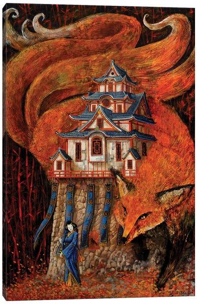 Kitsune Canvas Art Print