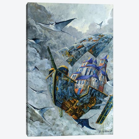 Manta Canvas Print #RUR15} by Roch Urbaniak Canvas Wall Art
