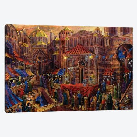 Bazaar Of Fables Canvas Print #RUR2} by Roch Urbaniak Canvas Art Print