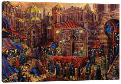 Bazaar Of Fables Canvas Art Print