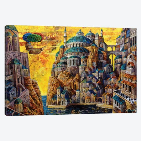 Bosphorus Canvas Print #RUR3} by Roch Urbaniak Canvas Art Print