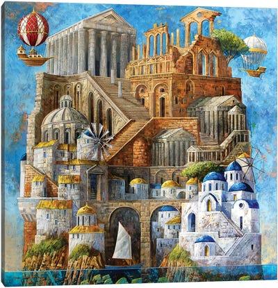 Cyclades Canvas Art Print