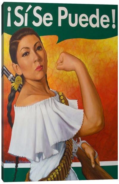 Rosita (Si Se Puede!) Canvas Art Print
