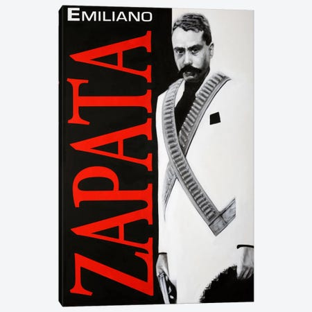 Zapata! Canvas Print #RVA2} by Robert Valadez Canvas Wall Art
