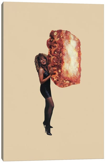 Whats Lasagna Got To Do With It Canvas Art Print