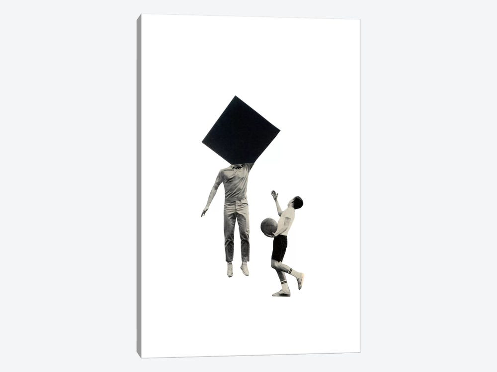 Block by Richard Vergez 1-piece Canvas Wall Art