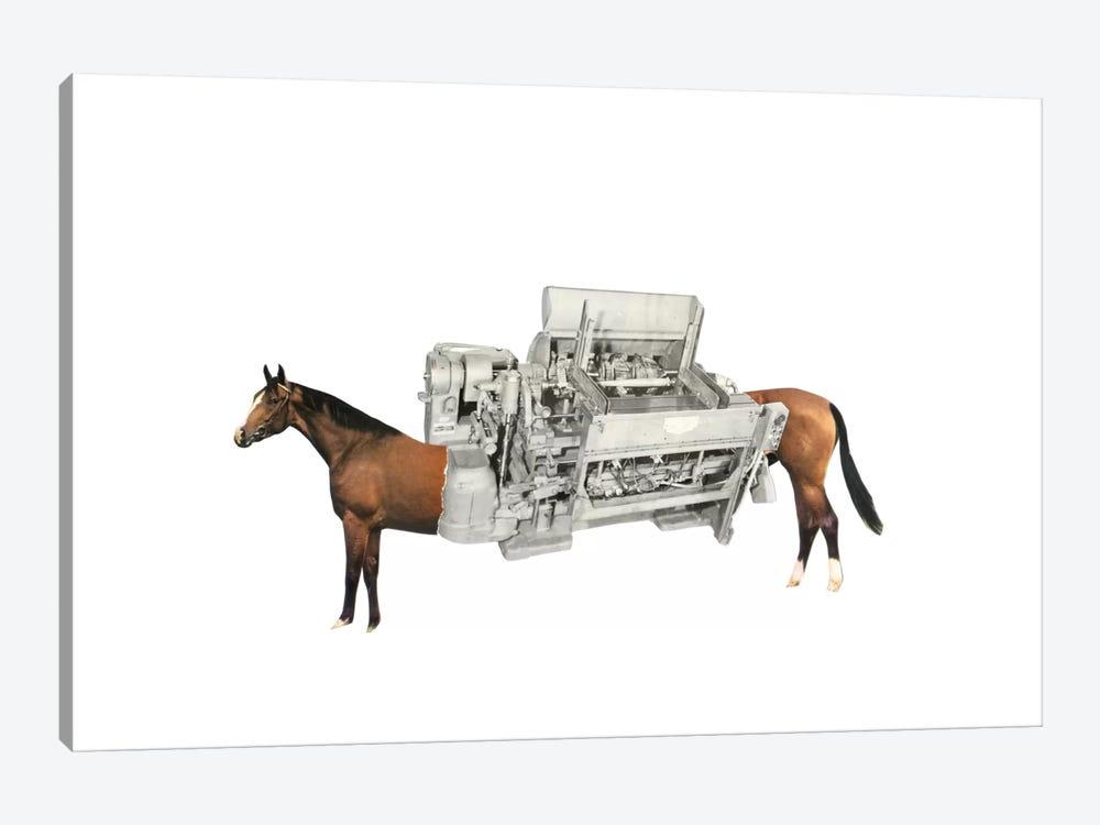 Horsepower by Richard Vergez 1-piece Canvas Wall Art