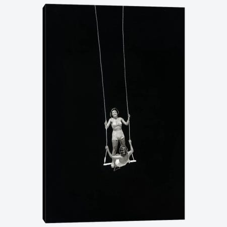 Swing Canvas Print #RVE27} by Richard Vergez Canvas Art