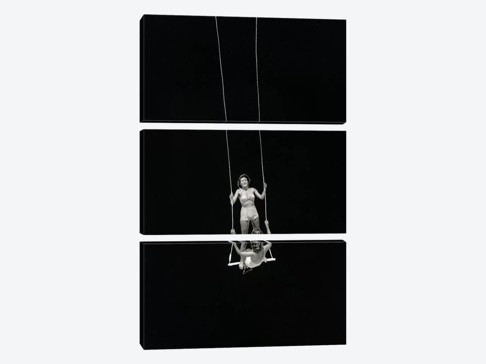 Swing by Richard Vergez 3-piece Canvas Artwork