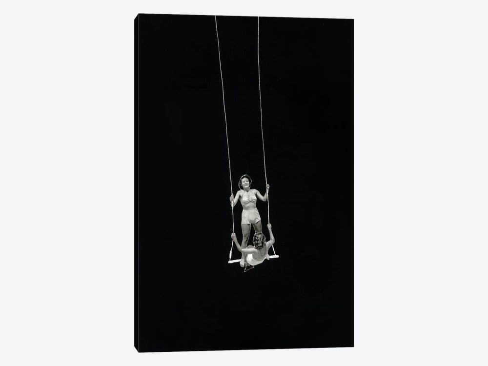 Swing by Richard Vergez 1-piece Canvas Wall Art