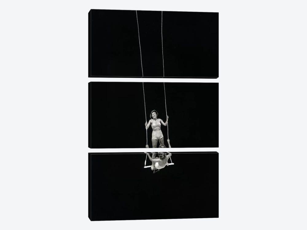 Swing by Richard Vergez 3-piece Canvas Artwork