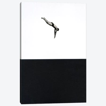 Dive Canvas Print #RVE3} by Richard Vergez Canvas Artwork