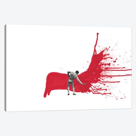 Matador I 3-Piece Canvas #RVE47} by Richard Vergez Canvas Art