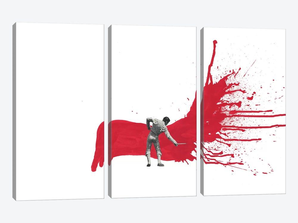 Matador I by Richard Vergez 3-piece Canvas Art