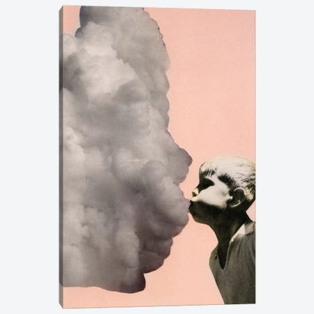 Exhalation Canvas Print #RVE4} by Richard Vergez Canvas Print