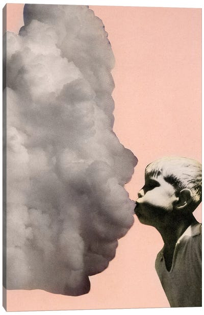 Exhalation Canvas Art Print