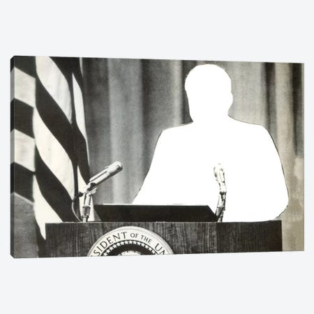 Unpresidented Canvas Print #RVE54} by Richard Vergez Canvas Print
