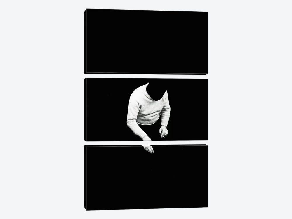 Vacant Life by Richard Vergez 3-piece Canvas Print