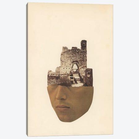 Head Stone Canvas Print #RVE62} by Richard Vergez Canvas Art Print