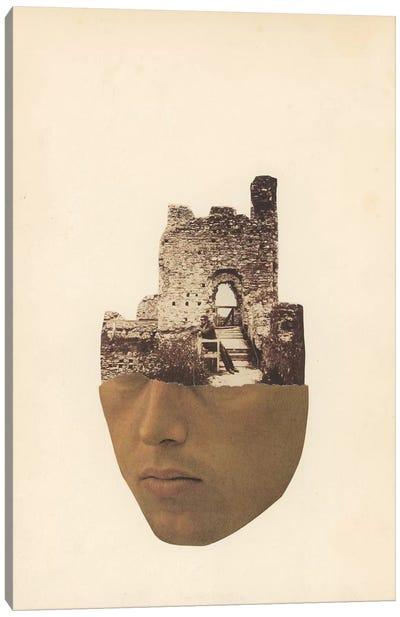 Head Stone Canvas Art Print