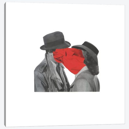 Look Of Love Canvas Print #RVE8} by Richard Vergez Canvas Art