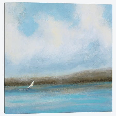 Sailing Day II Canvas Print #RVI12} by Rita Vindedzis Canvas Wall Art