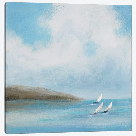 Sailing Day III Canvas Print #RVI13} by Rita Vindedzis Canvas Wall Art