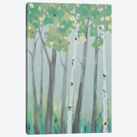 Forest View I Canvas Print #RVI6} by Rita Vindedzis Canvas Print