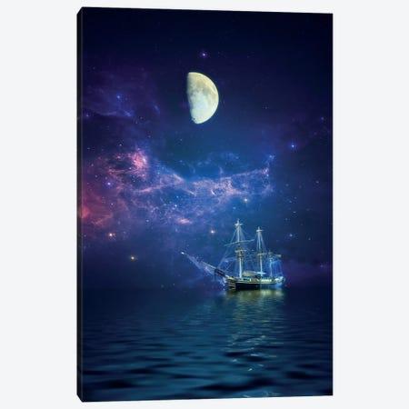 By Way Of The Moon And Stars Canvas Print #RVR10} by John Rivera Art Print