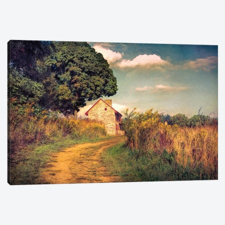 Webb Farm House Canvas Print #RVR30} by John Rivera Canvas Art Print