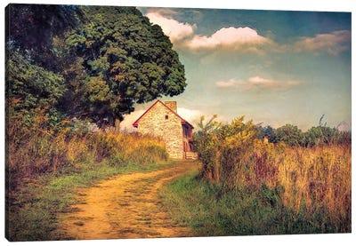 Webb Farm House Canvas Art Print