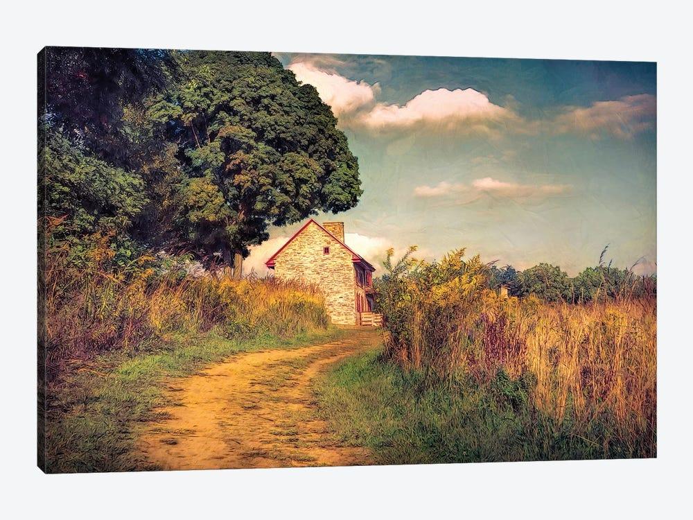 Webb Farm House by John Rivera 1-piece Canvas Art