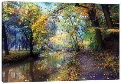 Autumn Walk Canvas Art Print