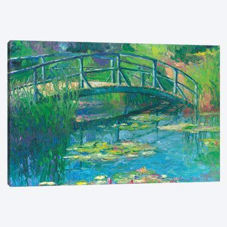 Lilies III Canvas Print #RWA100} by Richard Wallich Canvas Art Print