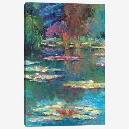 Lilies V Canvas Print #RWA101} by Richard Wallich Canvas Art Print