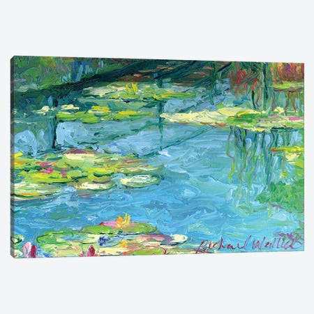 Lilies VI Canvas Print #RWA102} by Richard Wallich Art Print