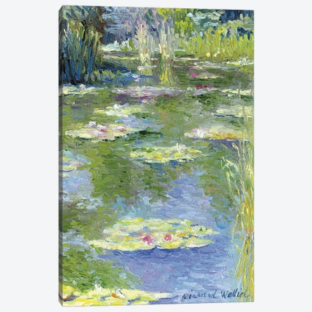 Lilies I Canvas Print #RWA103} by Richard Wallich Canvas Art Print