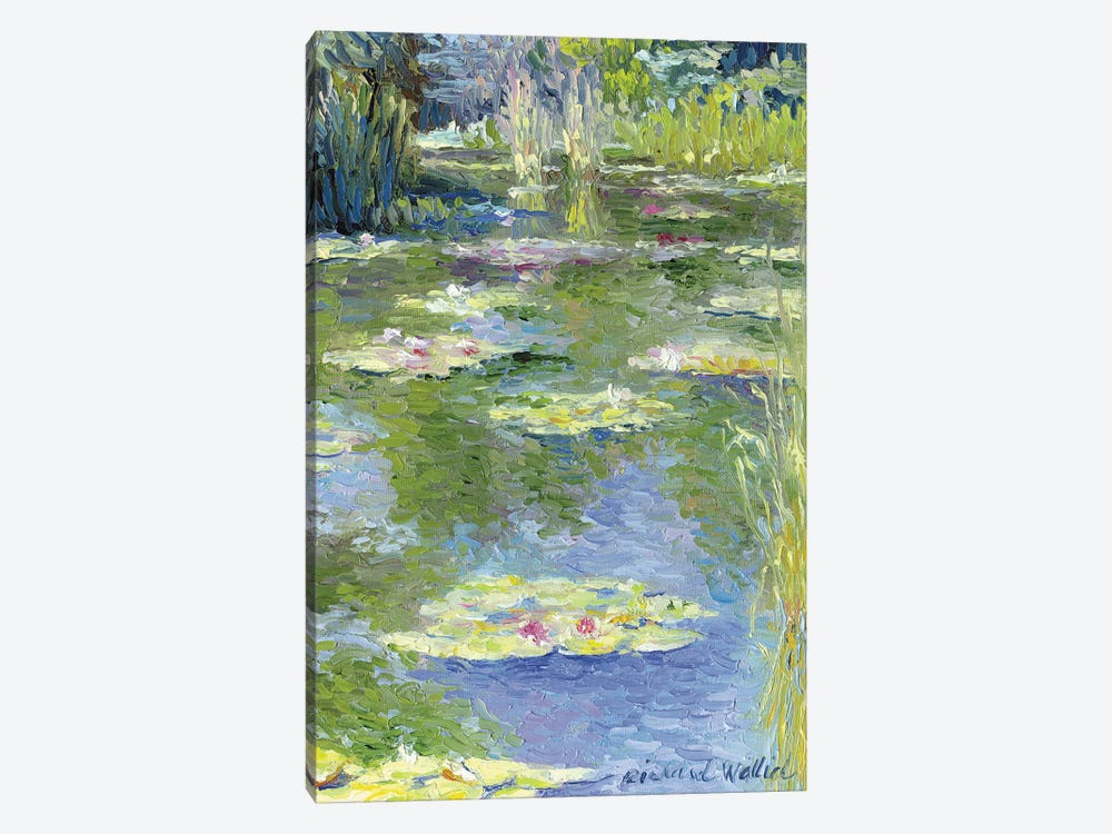 Lilies I by Richard Wallich 1-piece Art Print
