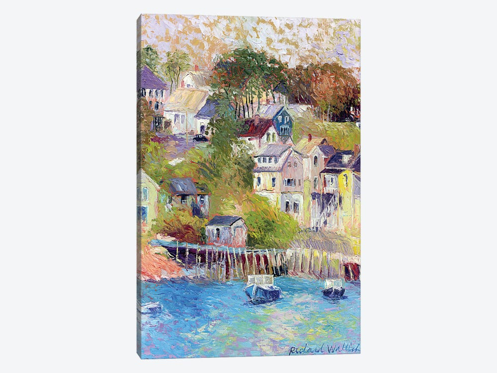 Maine by Richard Wallich 1-piece Canvas Print