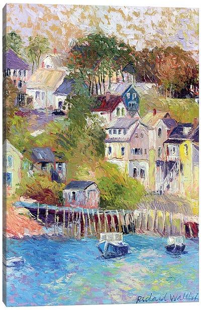 Maine Canvas Art Print